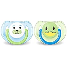 Philips Avent Soother Animal BPA Free 6-18 Month, Boy SCF182/14