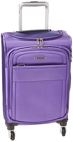Samsonite Eco Lite Spinner Ladies Medium Purple Polyethylene Luggage Bag TSA Approved 112330-1888