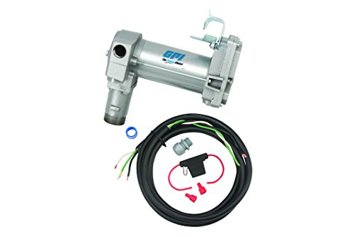 GPI 133240-3, M-3025-PO High Flow Cast Iron Fuel Transfer Pump, 12-VDC, 25 GPM, Straight Base, Pump Only by GPI® The Proven Choice®
