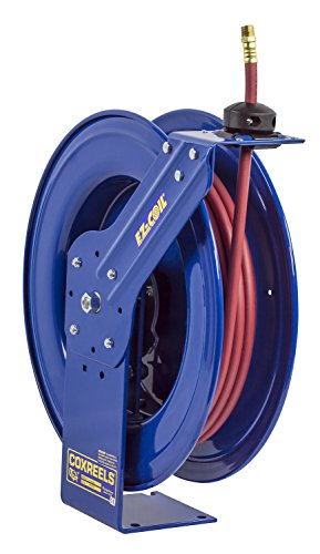 Coxreels EZ-Coil Air/Water Hose Reels, 1/2'' Hose ID, 50' Length by Coxreels