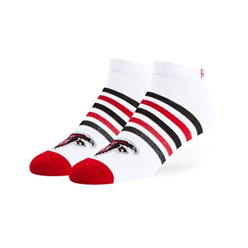 - OTS NFL Atlanta Falcons Venom Low Cut Ankle Socks, White, Large
