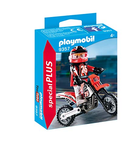 - PLAYMOBIL® Special Plus 9357 Motocross Driver