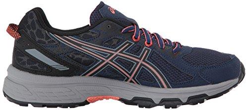 ASICS Women's Gel-Venture 6 Running-Shoes,Indigo Blue/Black/Coral,5 Medium US by ASICS (Image #7)