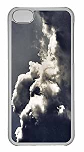 iPhone 5C Case, Personalized Custom Stormy Times for iPhone 5C PC Clear Case