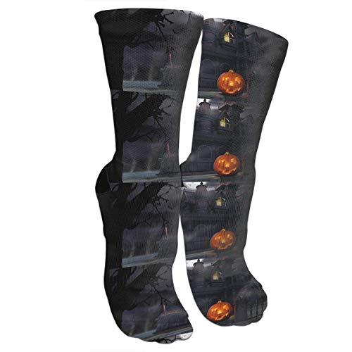 Halloween Costumes Socks Crew Sock Crazy Socks Long Tube Socks Novelty Fun for Women Teens Girls -