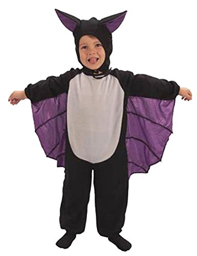 Bat Suit Toddlers Halloween Fancy Dress Costume Age 3 Years (Toddler Scary Costumes)