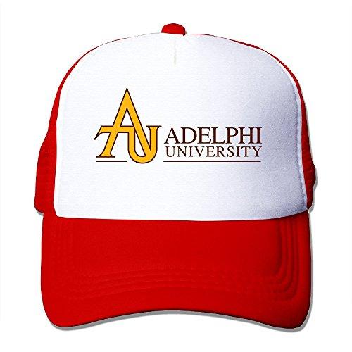 Texhood Adelphi University Geek Hiphop Cap One Size Red