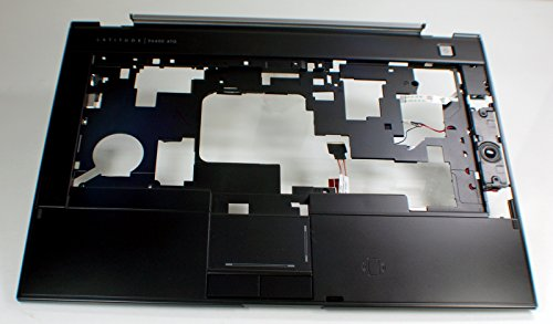NEW Genuine OEM DELL LATITUDE E6400 ATG Laptop Notebook Keyboard Touchpad Mouse Button Trackpad Trak Pad Palmrest W/Speakers N994D Upper Bezel Cover Assembly