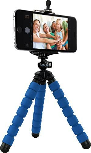 Rollei Selfie Mini Tripod - Minitrípode con Cabezal esférico giratorio 360°, adaptador para smartphone: Amazon.es: Electrónica