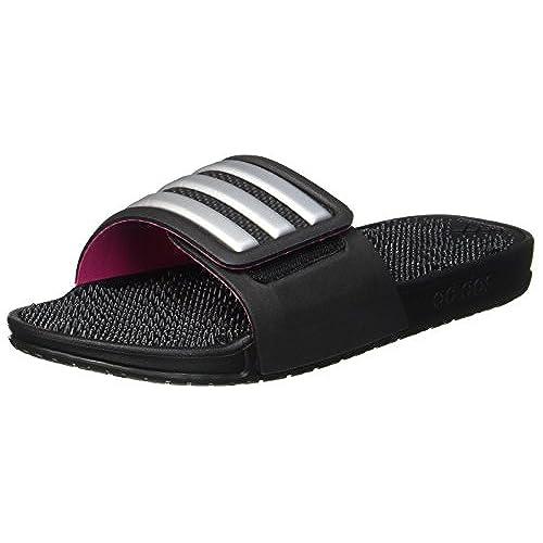 adidas Adissage 2.0 Stripes, Chaussures de Plage Et Piscine Mixte Enfant