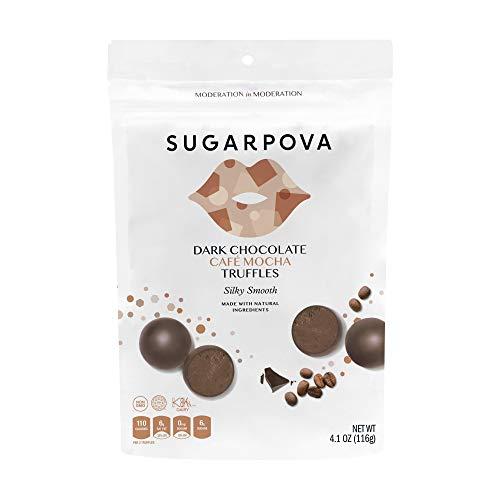 Sugarpova Dark Chocolate Cafe Mocha Truffles 6