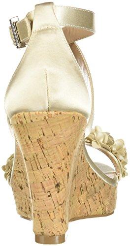 David Charles Charles Women's Wedge Sandal Ivory Lauryn by qTEUwP