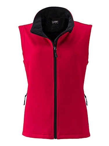 Chaleco softshell Chaleco softshell Mujer Red/black