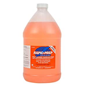 Rapid Tac Rapid Prep Surface Cleaner for Vinyl Graphics Wraps and Decals 128 Ounce / 1 Gallon