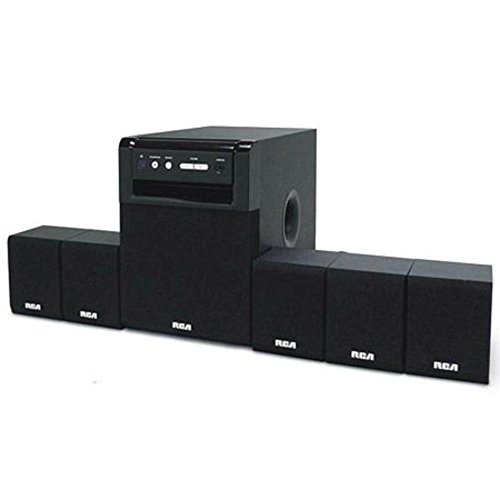 80 Watt Speaker System - RCA RT151 Home Theater System