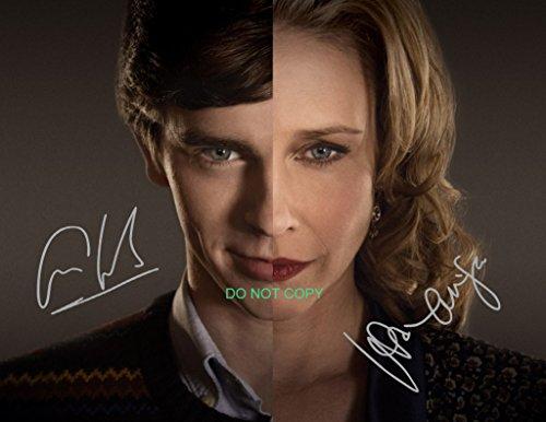 Bates Motel tv show cast signed reprint 11x14 poster photo Vera Farmiga & Freddie Highmore #2 by Loa_Autographs