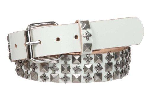 White Rock Star Studded Belt - 3