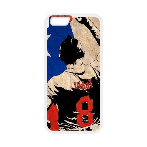 Arturo Vidal coque iPhone 6 4.7 Inch Housse Blanc téléphone portable couverture de cas coque EBDOBCKCO17634