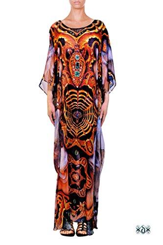 camilla print dress - 9