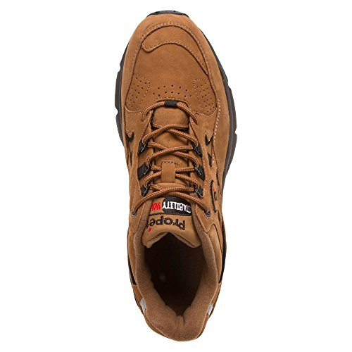 Propet Stabilität Walker CHOCO BROWN / BLACK NUBUCK