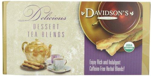 Davidson's Tea Single Serve Caramel Peach with Coconut, 100-Count Tea Bags