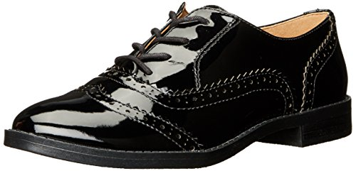 Franco Sarto Women's L-Imagine Oxford, Black, 7 Medium US (Franco Sarto Patent Leather Shoes)