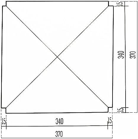 ArredaS/ì Ricambi sedili in simil paglia 37x37 mod. 998 SM SET DI DUE + Feltrini in OMAGGIO
