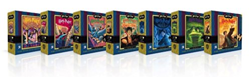 New York Puzzle Company - Harry Potter Harry Potter Mini Puzzle Collector's Set - 100 Piece Jigsaw Puzzle