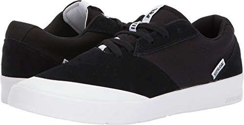 Supra Skate Black Shifter White White Shoes Mens Suede vvwgqrx