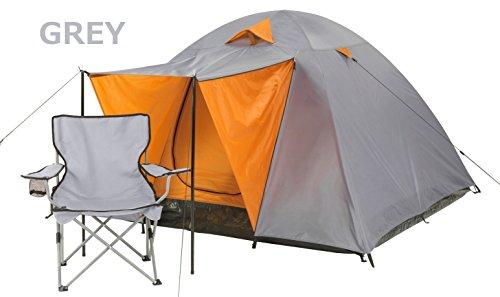 独立寛容な団結phoneix-m 602001 302015 3人用のスペースがあるクラシックドームテント