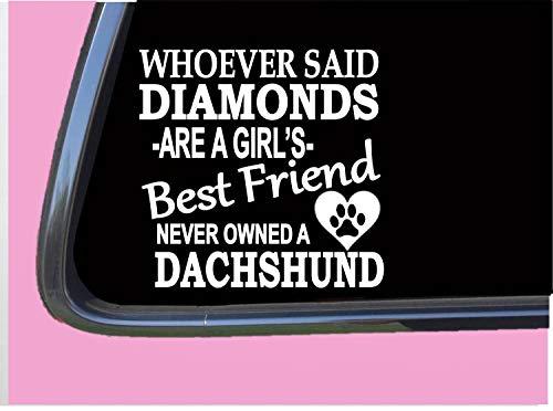 Dachshund Rescue - Dachshund Diamonds TP 464 Sticker 6