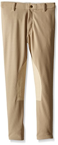 Devon Aire Girls All-Pro Riding Breeches, 16, Beige