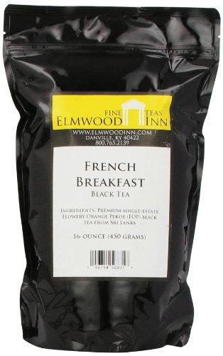 Ceylon Breakfast - Elmwood Inn Fine Teas, French Breakfast Ceylon Flowery Orange Pekoe Black Tea, 16-Ounce Pouch