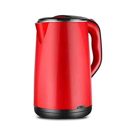 Stainless Steel Three Anti-hot Seamless Liner Kettle 1.8L 1500W ()