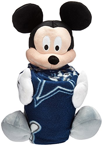 Dallas Cowboys Youth Uniform - The Northwest Company NFL Dallas Cowboys Mickey Mouse Pillow with Fleece Throw Blanket Set