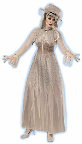 [Forum Women's Victorian Ghost Costume, Multi, Standard] (Haunted Ghost Costume)