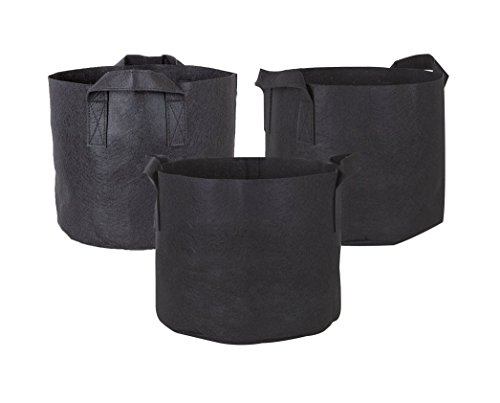 obecome-3pc-10-gallons-non-woven-fabric-garden-planting-grow-bags-with-handles-black