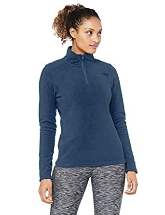 The North Face Women's TKA 100 Glacier Zip, Blue Wing Teal, XS