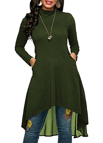 High Low Hem Dress - 1