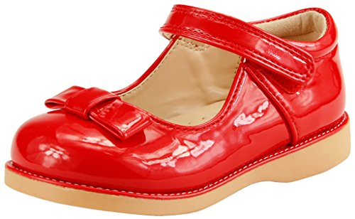 The Doll Maker Girl's Mary Jane - (Girls Red Mary Jane Shoes)