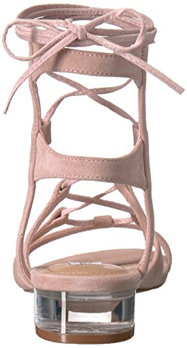 Steve Madden Womens chely Gladiator Sandal Pink Suede