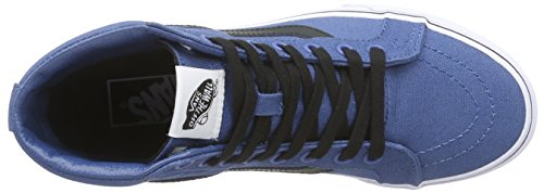 Vans Unisex Sk8-Hi Slim Women's Skate Shoe Blue best place cheap price INb2hq