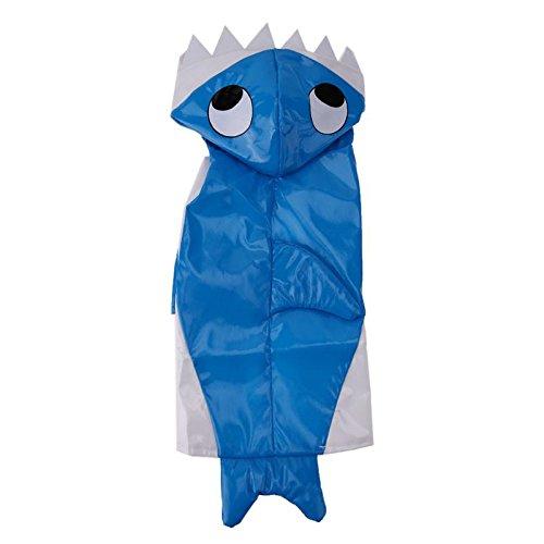 Size M Pet Halloween Clothes Suit Pet Halloween Decoration Pet Winter Keeping Warm Clothes Dog Dressing up Shark Costume