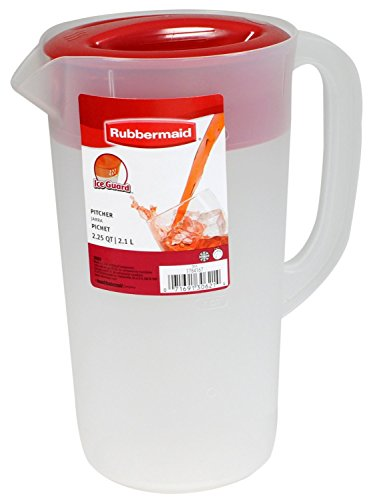 RUBBERMAID Covered Pitcher 2 25 White product image