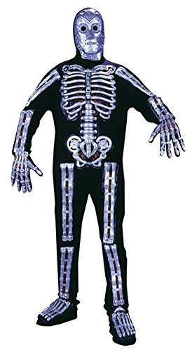 Funworld Mens Cyborg Robot Skeleton Theme Party Fancy Dress Halloween Costume, One Size (42-44)