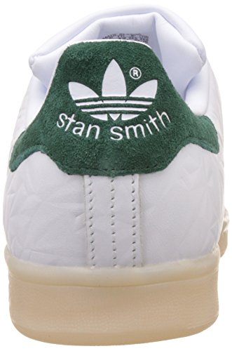 Ftwwht Stan adidas Ftwwht Homme Baskets Basses Cgreen Smith Blanc gxRTqF