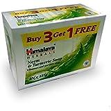 Himalaya Neem and Turmeric Soap, 125g (Buy 3 Get 1 Free)