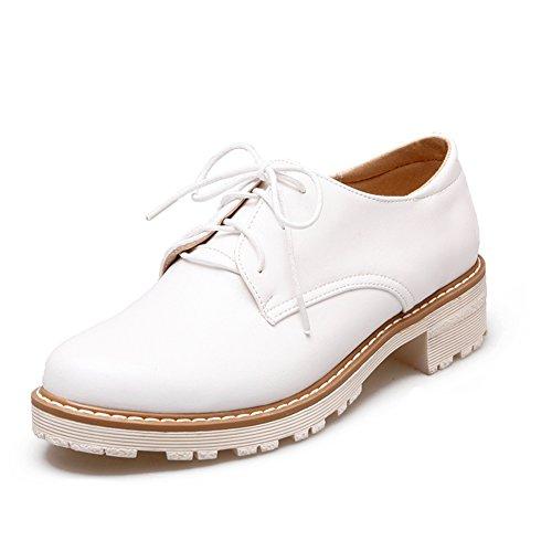 Baja redonda cabeza con zapatos oscuros de Inglaterra/tener zapatos de colegio/Zapatos del estudiante C
