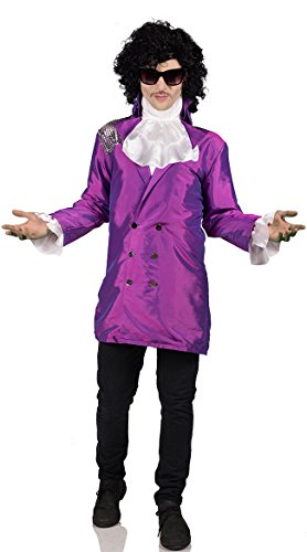 Purple Pop Star Adult Costume - Medium or Large