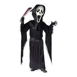 Child Bobble Head Ghost Face Child Costume - Medium